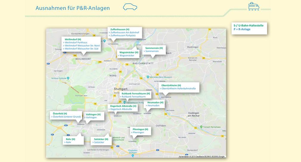 Fahrverbot Stuttgart Karte.Ausnahmeregelungen Für Verkehrsverbote In Stuttgart Präzisiert