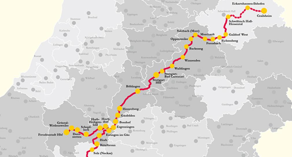 Baden Wurttemberg Karte Db.Db Soll Zuschlag Fur Spnv Zwischen Crailsheim Und Konstanz